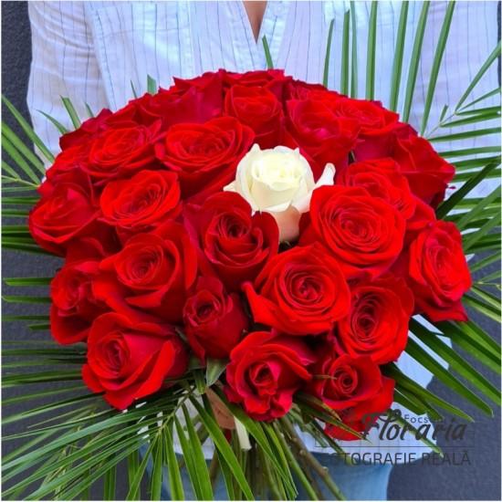 Arrangement 21 roses