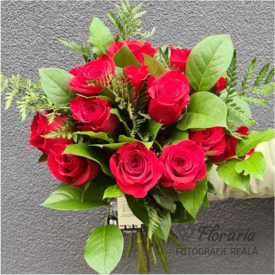 Bouquet 17 Premium Roses