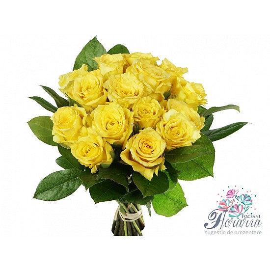 Bouquet 15 Yellow Roses