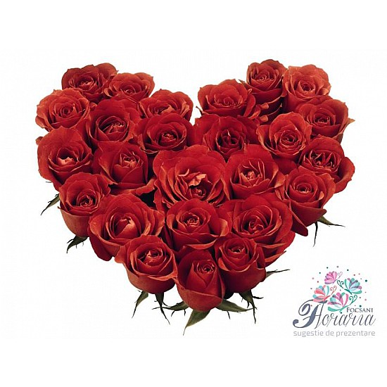 Heart of roses 35